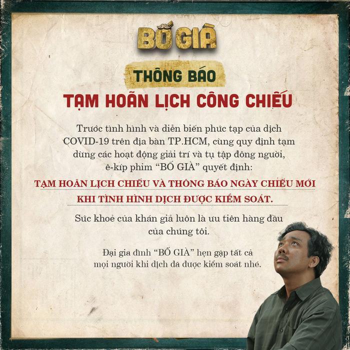 Chính thức: Phim Tết 2021 của Trấn Thành, Lý Hải, Ngô Thanh Vân huỷ chiếu vì COVID-19 Ảnh 3
