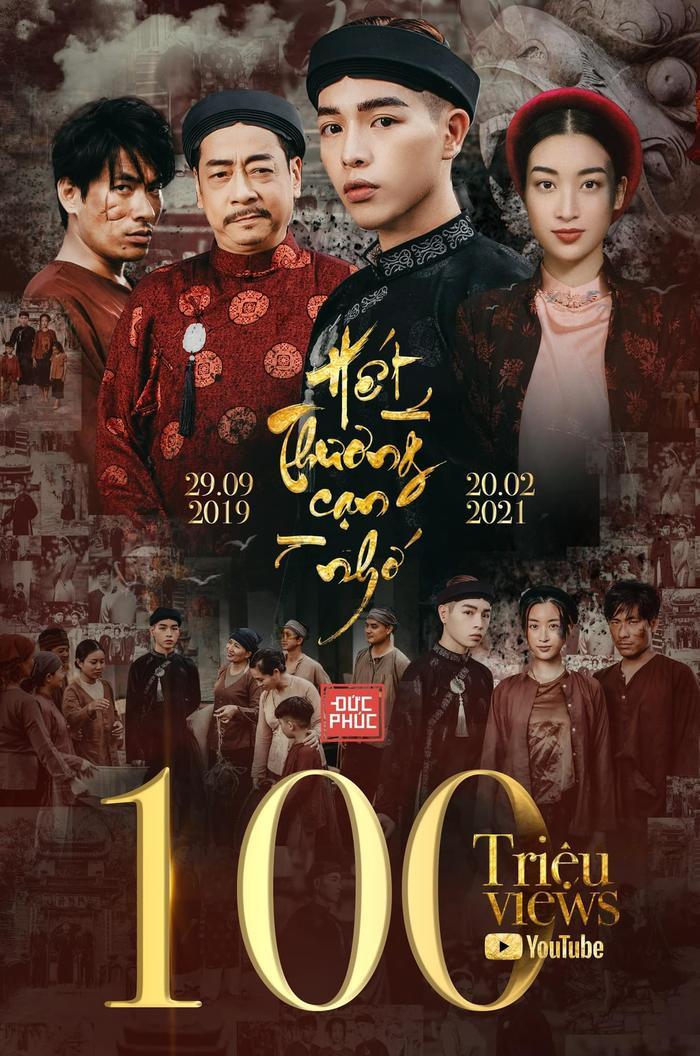 MV 'Hết Thương Cạn Nhớ' của Đức Phúc chính thức đạt 100 triệu view Ảnh 1