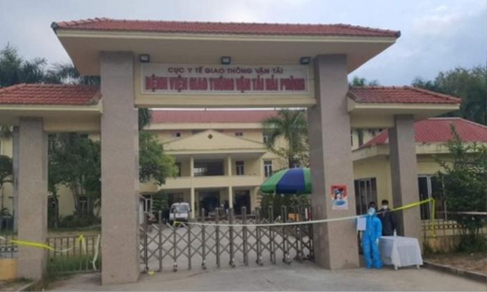 Một bệnh viện tại Hải Phòng bị phong tỏa khi phát hiện nữ nhân viên y tế dương tính với SARS-CoV2 Ảnh 1