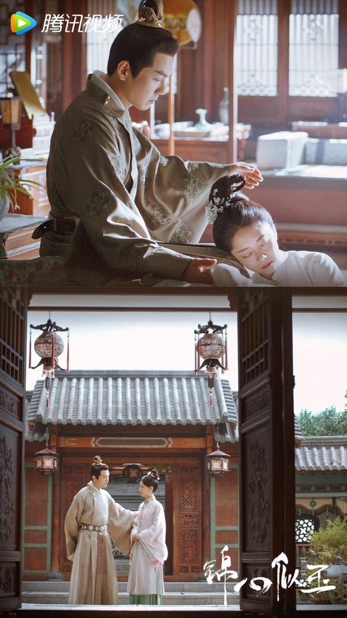 Chung Hán Lương - Đàm Tùng Vận lộ cảnh thân mật trên giường ở phim mới, Vương Nhất Bác bị réo tên Ảnh 13