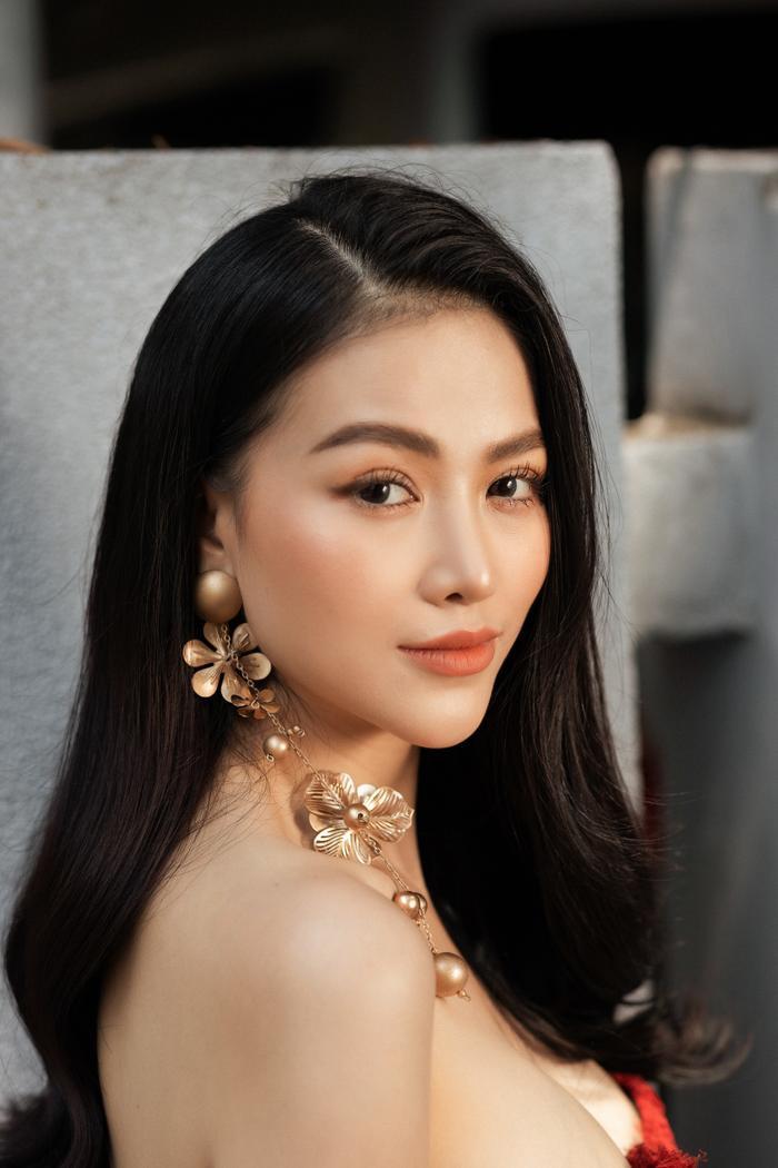Hoa hậu Phương Khánh tái xuất đẹp mê hồn sau thời gian 'bốc hơi' Vbiz, dính tin đồn có bầu Ảnh 4