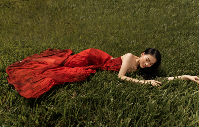 Hoa hậu Phương Khánh tái xuất đẹp mê hồn sau thời gian 'bốc hơi' Vbiz, dính tin đồn có bầu Ảnh 9