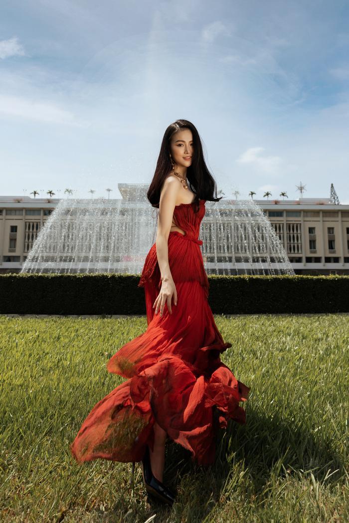 Hoa hậu Phương Khánh tái xuất đẹp mê hồn sau thời gian 'bốc hơi' Vbiz, dính tin đồn có bầu Ảnh 10