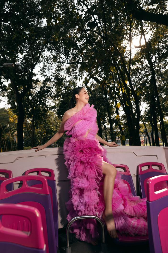 Hoa hậu Phương Khánh tái xuất đẹp mê hồn sau thời gian 'bốc hơi' Vbiz, dính tin đồn có bầu Ảnh 22