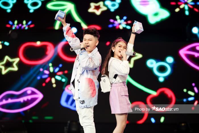Minh Thư - Song Tùng đội BigLy trình diễn ca khúc mới gây nghiện 'Muợn sữa làm quen' siêu cấp đáng yêu Ảnh 4