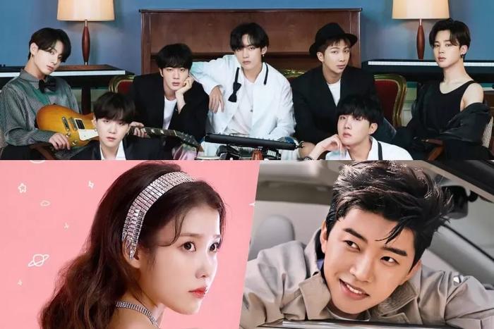 BXH thương hiệu ca sĩ Kpop tháng 2/2021: IU lăm le soán ngôi BTS, Kang Daniel tăng điểm nhưng 'bất lực' Ảnh 1