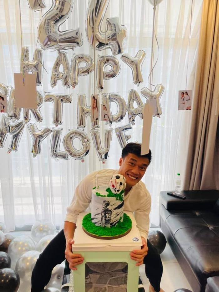 Dianka chúc mừng sinh nhật thủ môn Bùi Tiến Dũng: 'Hãy nhớ rằng em yêu anh rất nhiều' Ảnh 1