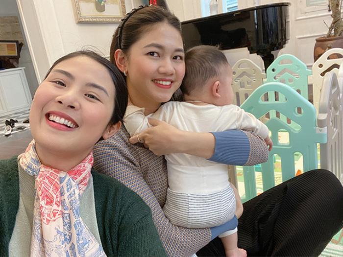3 'nữ hoàng nhan sắc' Lan Khuê - Thúy Vân - Đặng Thu Thảo làm dâu nhà hào môn, hạnh phúc viên mãn Ảnh 15