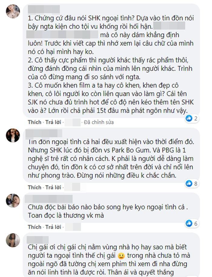 Hồng Quế vô cớ phán 'Song Hye Kyo ngoại tình - giả tạo, bị Song Joong Ki bỏ' khiến fan phẫn nộ? Ảnh 6