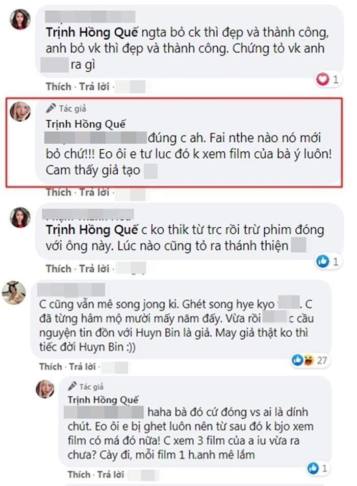 Hồng Quế vô cớ phán 'Song Hye Kyo ngoại tình - giả tạo, bị Song Joong Ki bỏ' khiến fan phẫn nộ? Ảnh 3
