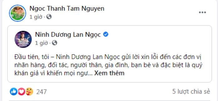 Loạt sao Việt động viên an ủi Ninh Dương Lan Ngọc sau nghi vấn rò rỉ clip nóng! Ảnh 12