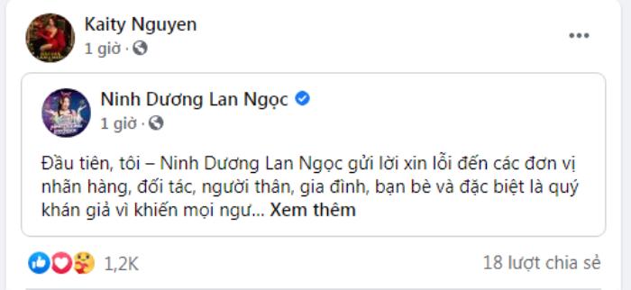 Loạt sao Việt động viên an ủi Ninh Dương Lan Ngọc sau nghi vấn rò rỉ clip nóng! Ảnh 13