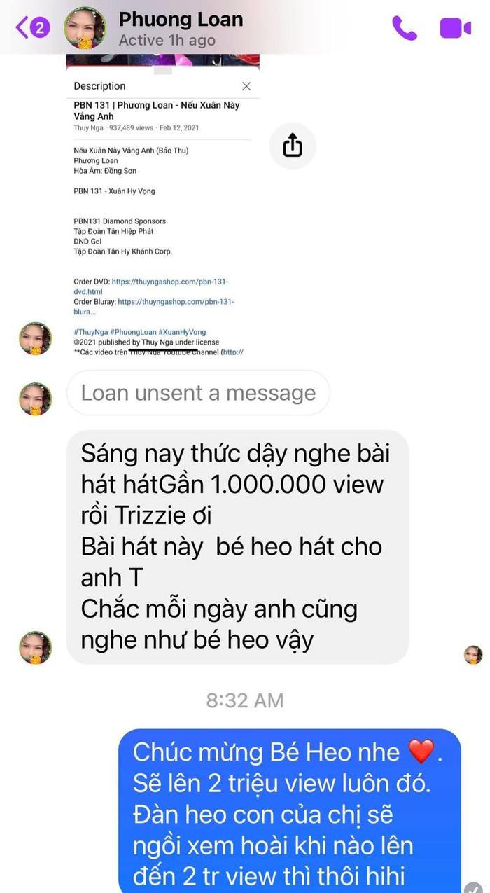 'Chị Bé Heo' vui mừng khi ca khúc tặng Chí Tài gần triệu view: 'Chắc mỗi ngày anh đều nghe' Ảnh 2