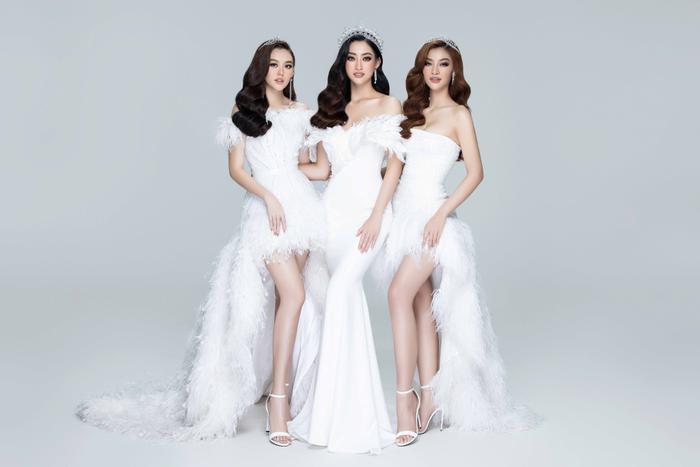 Lương Thuỳ Linh, Kiều Loan, Tường San đẹp lộng lẫy, khởi động Miss World Vietnam 2021 Ảnh 1