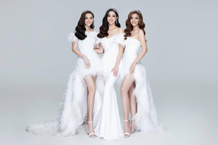 Lương Thuỳ Linh, Kiều Loan, Tường San đẹp lộng lẫy, khởi động Miss World Vietnam 2021 Ảnh 2