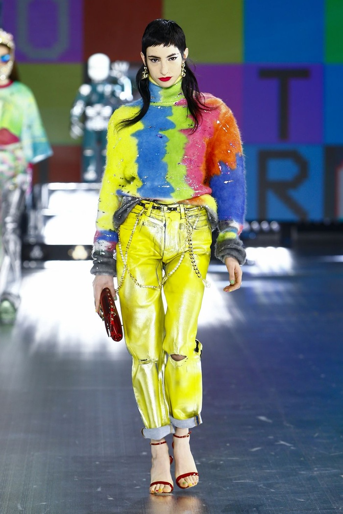 Dolce & Gabbana kết hợp sàn catwalk với trí tuệ nhân tạo Ảnh 4