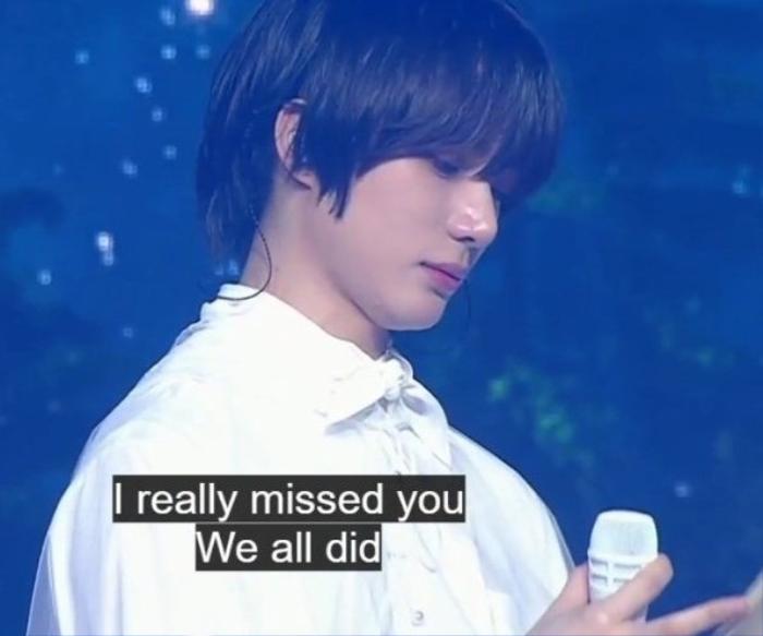 Beomgyu rơi nước mắt không ngừng vì lí do đặc biệt tại fan meeting TXT Ảnh 7