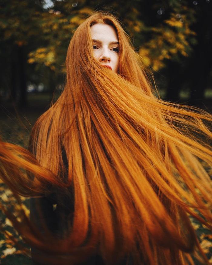 Cô gái từng mắc chứng rụng tóc suýt hói đầu được mệnh danh là 'Rapunzel người Nga' Ảnh 3