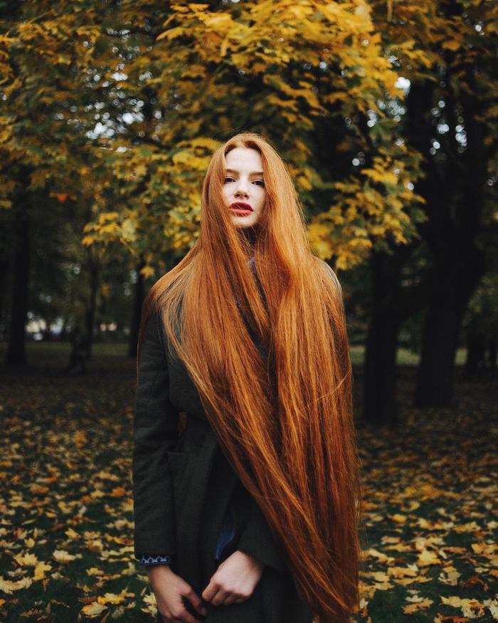 Cô gái từng mắc chứng rụng tóc suýt hói đầu được mệnh danh là 'Rapunzel người Nga' Ảnh 6