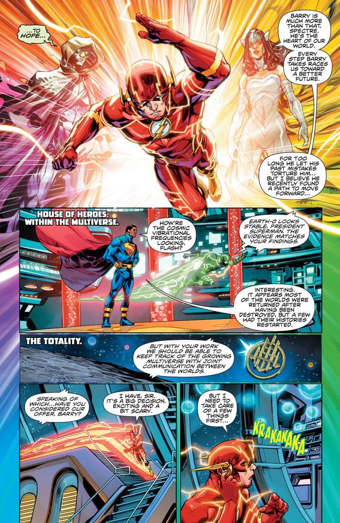 Flash Wally West trở lại làm Flash chính thức của vũ trụ DC Ảnh 1