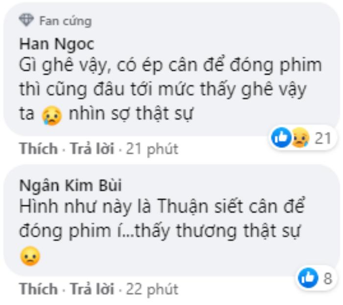 Thuận Nguyễn gầy trơ xuống, đen đúa nằm bất tỉnh khiến khán giả sợ: Ép cân đóng phim cũng không nên thế Ảnh 3