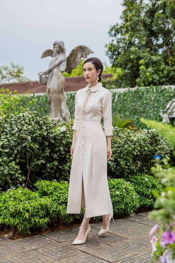 Jun Vũ diện 8 bộ váy cho 'vai phụ không thoại' ở Gái già lắm chiêu V Ảnh 5