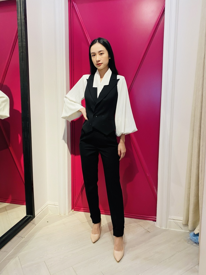 Jun Vũ diện 8 bộ váy cho 'vai phụ không thoại' ở Gái già lắm chiêu V Ảnh 22