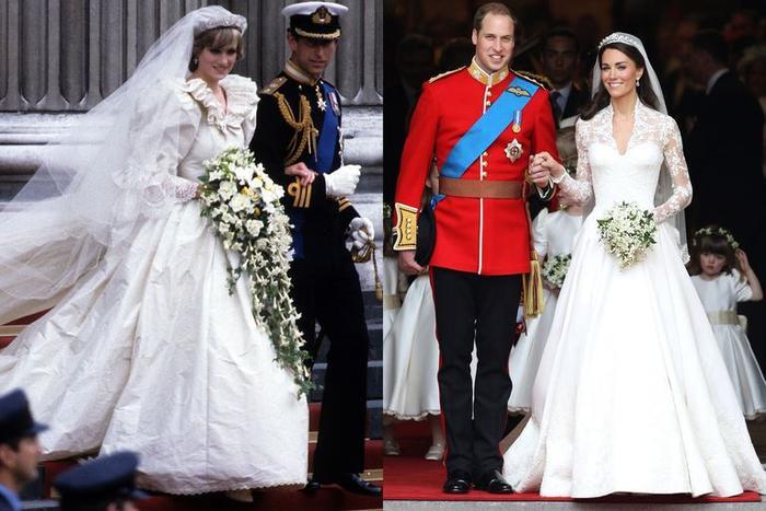 Sợi chỉ đỏ xuyên suốt gu thời trang của Công nương Diana và hai con dâu Kate & Meghan Ảnh 6