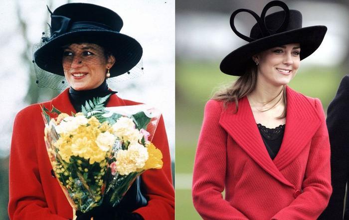 Sợi chỉ đỏ xuyên suốt gu thời trang của Công nương Diana và hai con dâu Kate & Meghan Ảnh 11