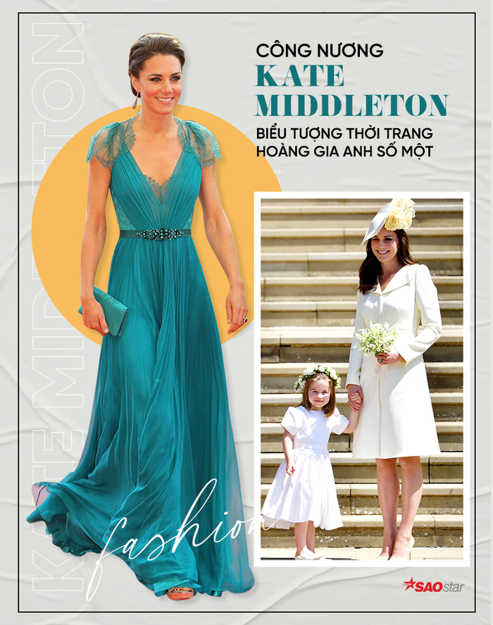 Sợi chỉ đỏ xuyên suốt gu thời trang của Công nương Diana và hai con dâu Kate & Meghan Ảnh 12