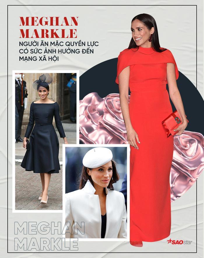 Sợi chỉ đỏ xuyên suốt gu thời trang của Công nương Diana và hai con dâu Kate & Meghan Ảnh 19