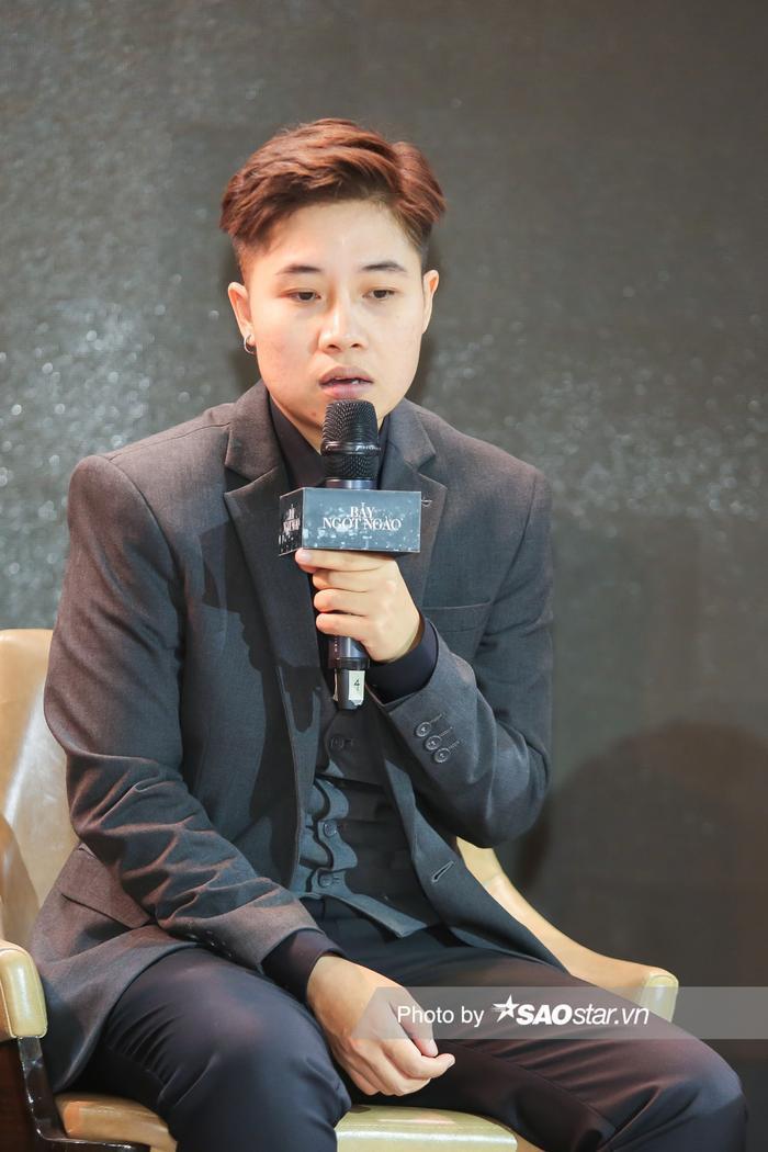 Họp báo 'Bẫy ngọt ngào': Chấn động với cảnh 18+ của Bảo Anh - Quốc Trường, Minh Hằng gợi cảm hút hồn fan! Ảnh 9