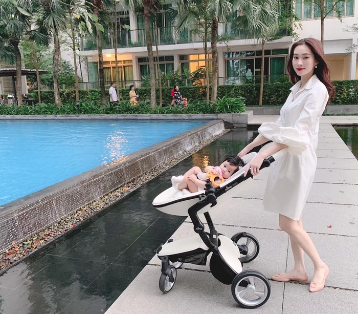 Hoa hậu Đặng Thu Thảo chúc mừng sinh nhật con gái: Bé Sophie đáng yêu hết phần thiên hạ! Ảnh 3