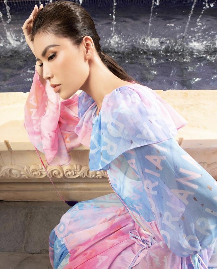 Minh Tú xoay váy thần thái đỉnh chóp tại show Fashion Voyage 3 Ảnh 6