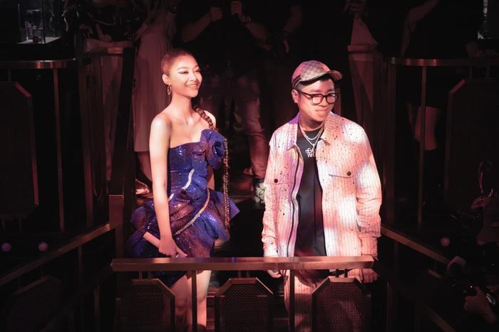 Bước ngoặt của Lona Kiều Loan sau King Of Rap: mang hình ảnh á hậu hát rap 'phủ sóng' sàn diễn thời trang Ảnh 12