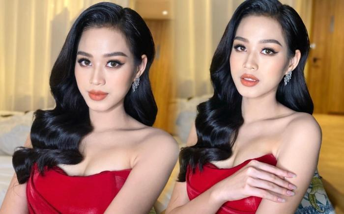 Đỗ Thị Hà khoe layout makeup xinh tươi nhưng dân tình lại bị hút hồn bởi vòng 1 nảy nở quyến rũ Ảnh 7