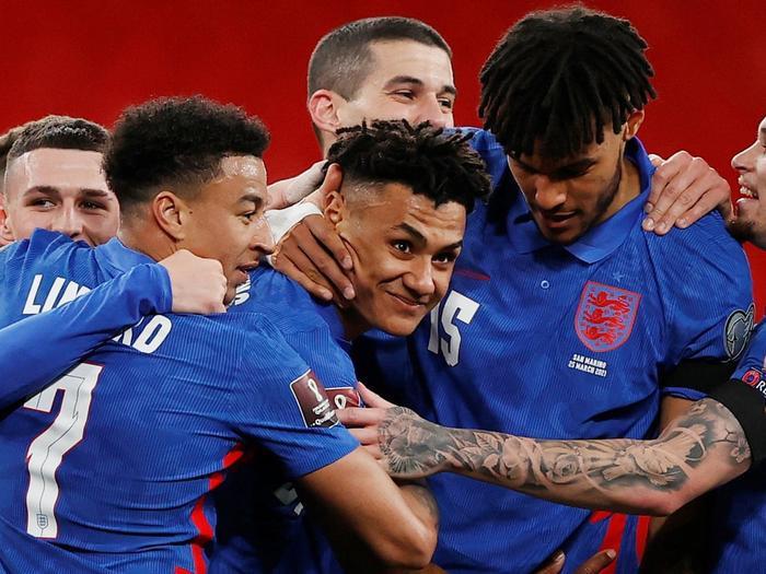Vòng loại World Cup 2022: Đức, Anh thắng đậm, Tây Ban Nha gây thất vọng Ảnh 1