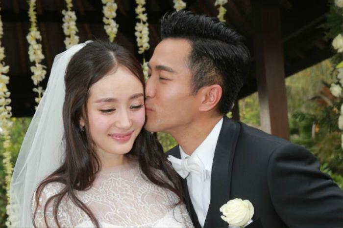 Chồng cũ Dương Mịch kết hôn với người tình kém 19 tuổi, lại còn 'ăn cơm trước kẻng'? Ảnh 1