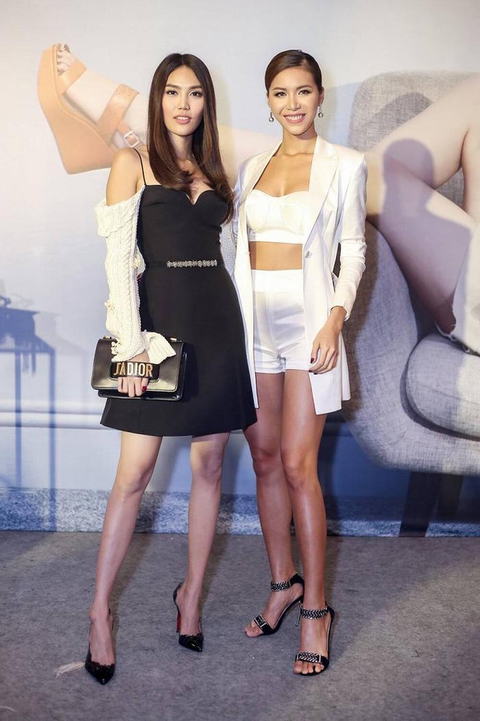 Minh Tú - Lan Khuê cực thân thiết ngày gặp lại: Fan trông chờ màn tái hợp của cặp đôi 'chị đại' Ảnh 6