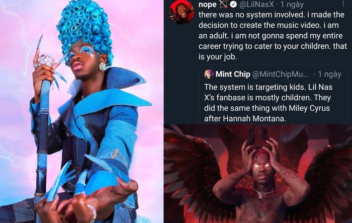 Lil Nas X đáp trả cực gắt khi bị chỉ trích MV không phù hợp với trẻ em Ảnh 3