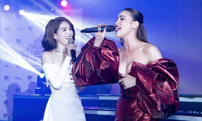 Ngọc Trinh sẽ góp giọng cùng B Ray - Han Sara trong ca khúc mới? Ảnh 3