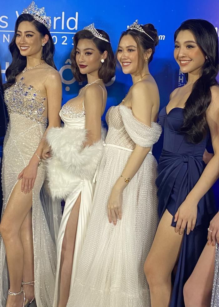 Á hậu Tường San diện váy bồng bềnh để lộ vòng 2 lùm xùm, fan chúc mừng 'chị đẹp' mang thai con đầu lòng? Ảnh 5
