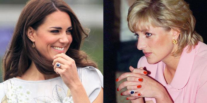 Bí ẩn tủ đồ Hoàng gia: Chuyện chưa kể đằng sau chiếc nhẫn đính hôn của Kate Middleton Ảnh 2