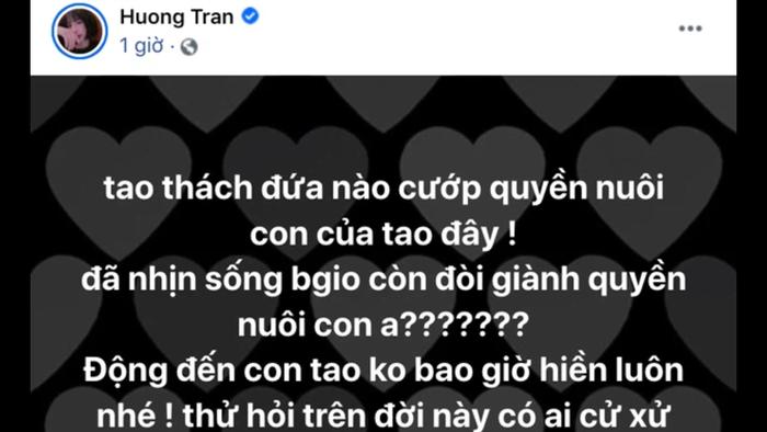 Hương Trần ẩn ý chuyện bị giành quyền nuôi con, dân mạng ngay lập tức réo tên tên Việt Anh Ảnh 2