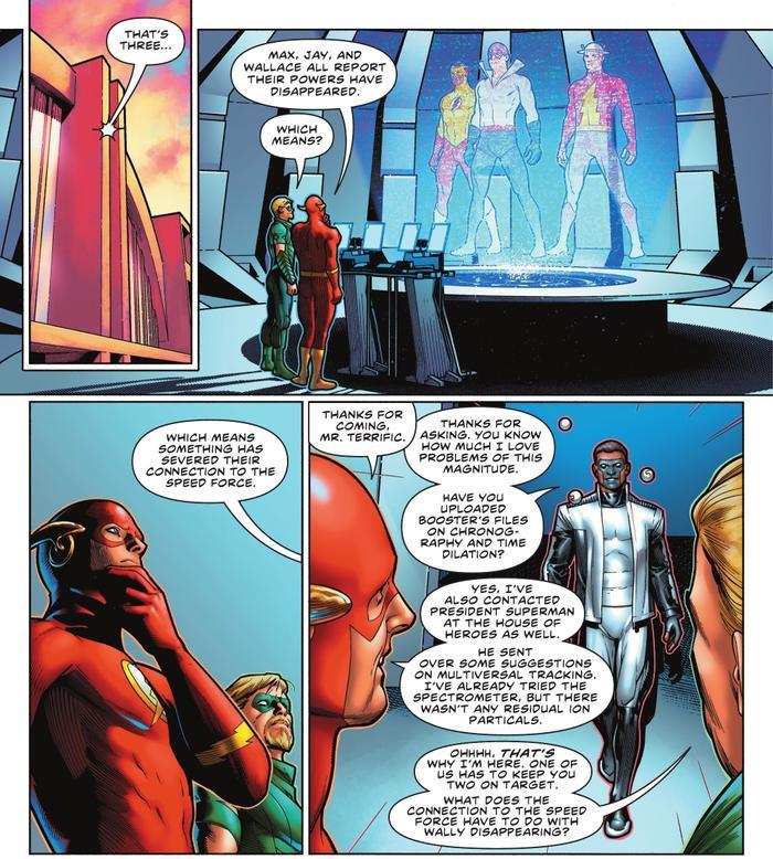 Bạn có biết: Tốc nhân đầu tiên của vũ trụ DC không phải The Flash, mà là người tiền sử? Ảnh 7