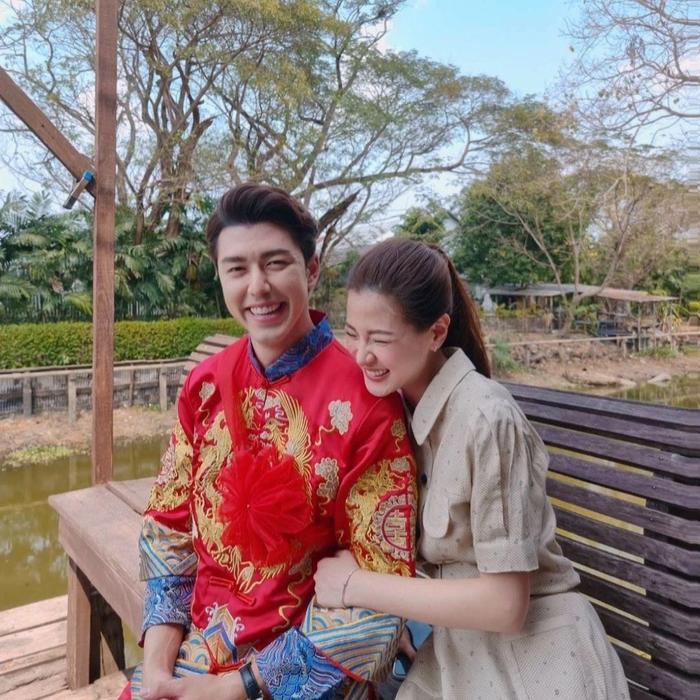 Baifern Pimchanok chủ động nhắc về mối quan hệ với ''người tình màn ảnh'' Nine Naphat Ảnh 8