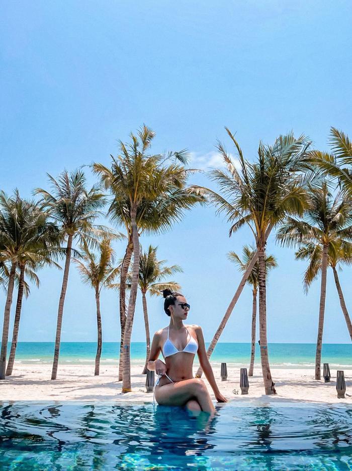 Á hậu Kim Duyên tiết lộ thực đơn giảm cân, quyết tâm giành vương miện Miss Universe 2021 Ảnh 10