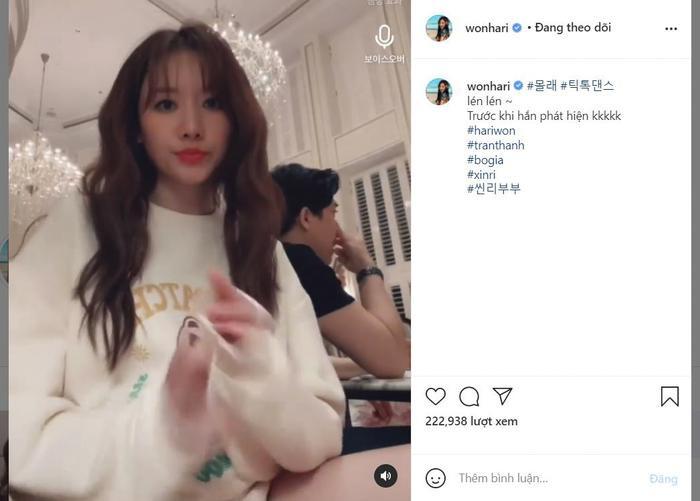 Lén Trấn Thành bắt trend nhảy Tik Tok, biểu cảm của Hari Won khiến fan thích thú Ảnh 4