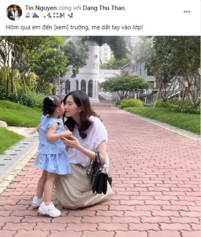 Mỗi lần đăng ảnh vợ con, chồng Đặng Thu Thảo đều khiến dân tình phì cười Ảnh 4