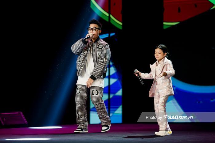 2 em út cừ khôi kết hợp: Sở Hân tiến bộ vượt bậc song ca ăn ý cùng Top 10 King Of Rap 2020 - Kenji Ảnh 4